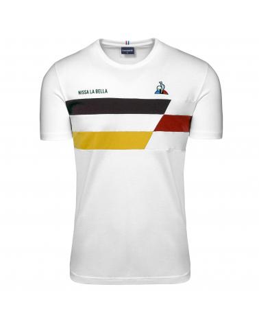 T-shirt Tour de France Le Coq Sportif Nissa la Bella Blanc