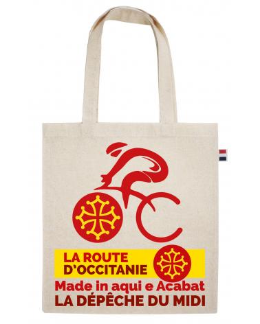 """Sac La Route d'Occitanie La dépêche du Midi """"Le Tote Vel'Occ"""""""