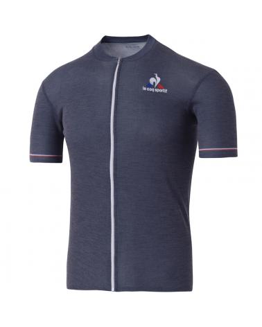 Maillot Cyclisme Tour de France Le Coq Sporti Merino Bleu Marine