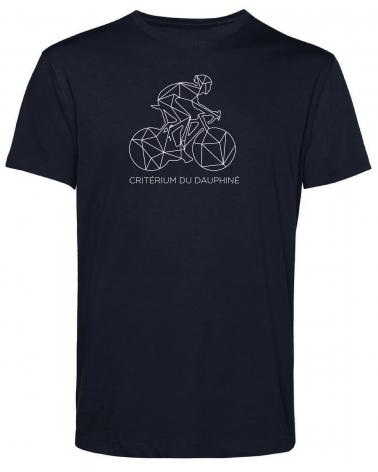 T-shirt Critérium du Dauphiné Décalqué Homme Bleu Marine