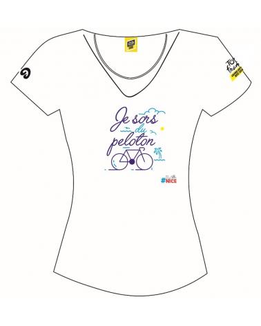 T-shirt Tour de France Nice Femme