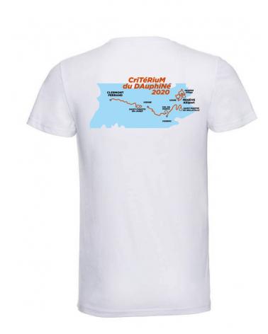 T-shirt Critérium du Dauphiné Parcours 2020