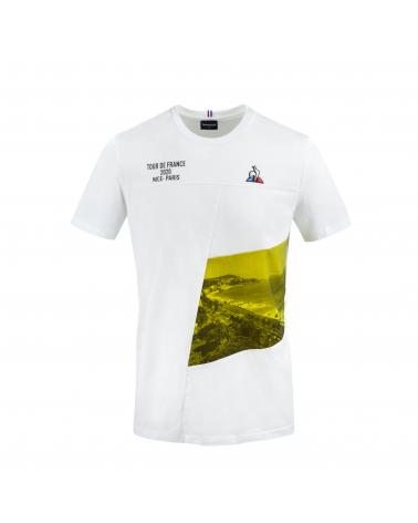 T-shirt Tour de France Le Coq Sportif  Parcours Nice 2020
