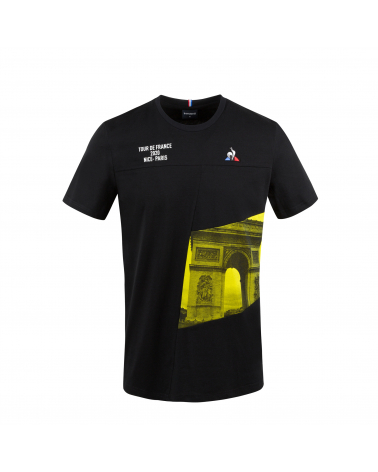 Tour de France Champs Elysées Route Le Coq Sportif T-shirt