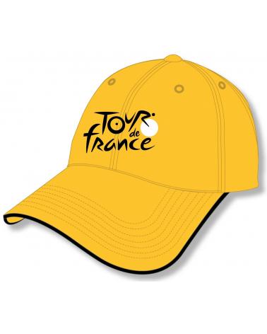 Casquette TDF Logo Jaune