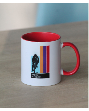 Mug Paris Roubaix Plein Orange