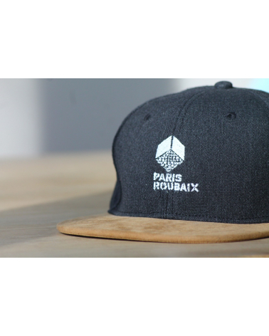 Cap Paris Roubaix Panel Black