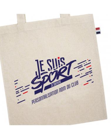 """Sac """" Je Suis Sport """"  Tote Bag"""
