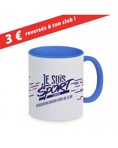 "Mug  "" Je Suis Sport ""  Bleu"