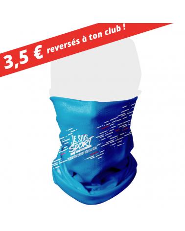 """Tour de Cou  """" Je Suis Sport """" Cache Col"""