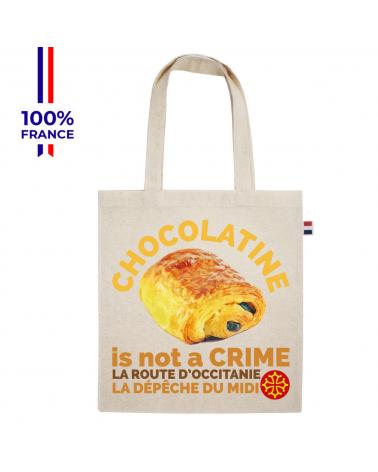 """La Route d'Occitanie La dépêche du Midi """"Le Tote Chocolatine """" Tote Bag"""