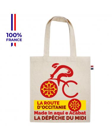 """La Route d'Occitanie La dépêche du Midi """"Le Tote Vel'Occ"""" Tote Bag"""