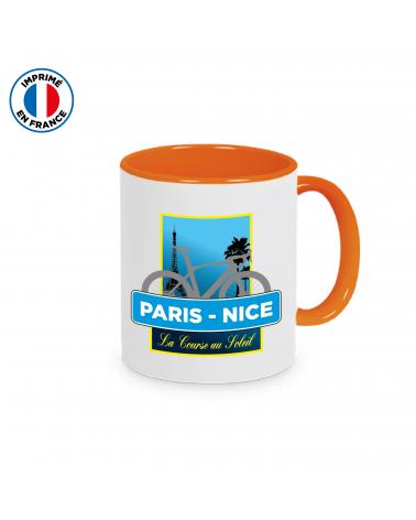 Mug Paris Nice Plein Orange