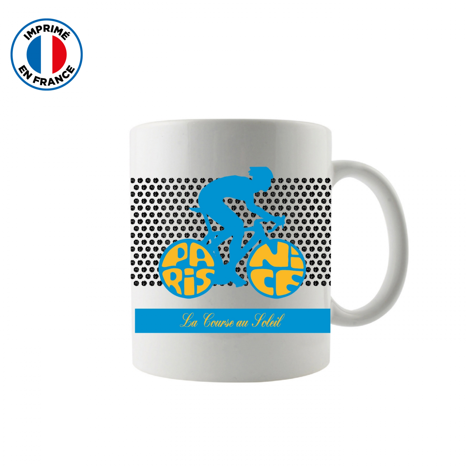 Mug Paris Nice Plein White