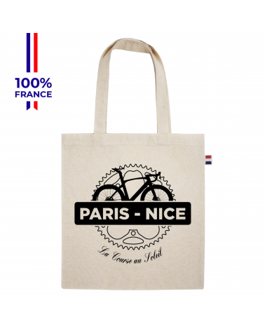 Tote Bag Paris Nice Musette Beige