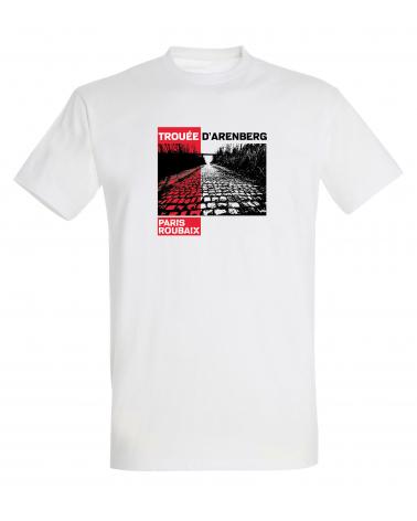 T-shirt Paris Roubaix Trouée Homme Personnalisation