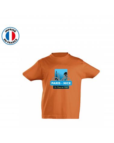 T-shirt Paris Nice Course Enfant