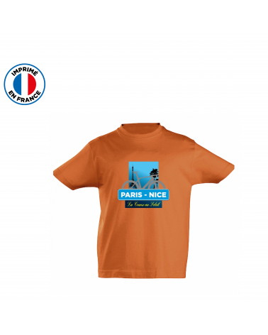 T-shirt Paris Nice Course Kid