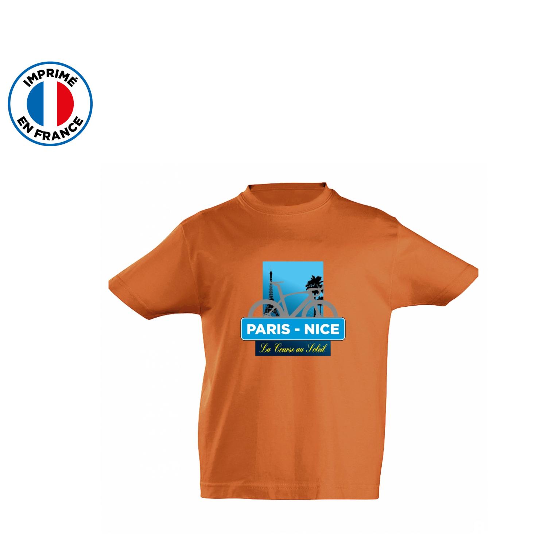 T-shirt Paris Nice Course Kid