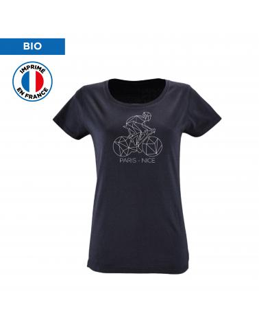 T-shirt Paris Nice Décalqué Femme