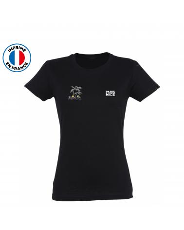 T-shirt Paris Nice Pédalier Femme