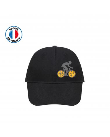 Paris Nice Black Carpette Cap