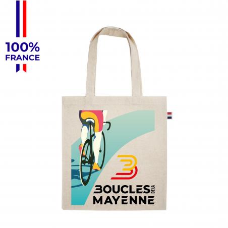 """Sac Boucles de la Mayenne """"Le Tote Affiche  """""""