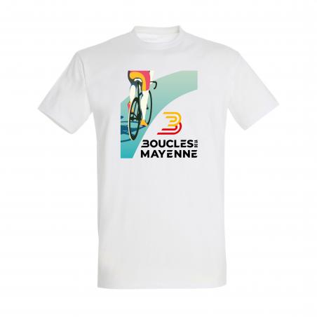 """Sweat  Boucles de la Mayenne """" L'affiche 2021 """" Homme"""