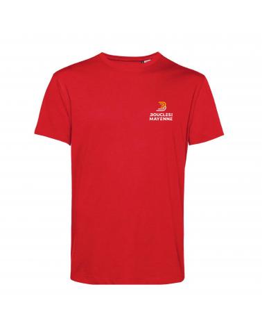 """T-shirt  Boucles de la Mayenne """" Parcours  2021 """" Homme"""