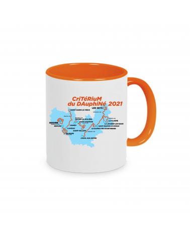 """Mug Critérium du Dauphiné """"Parcours 2021"""""""