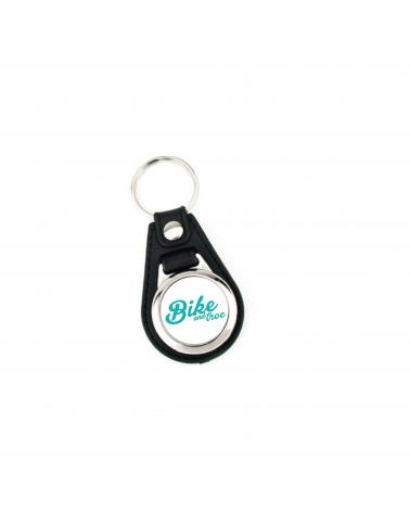 """Porte-Clés Bike and Troc Festival """" Trousseau Logo """""""