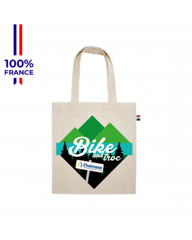 """Sac Bike and Troc Festival """"Le Tote Affiche  """""""