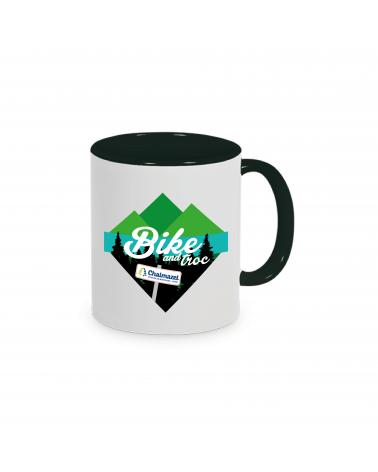 """Mug Bike and Troc """" La Récup' Affiche """""""