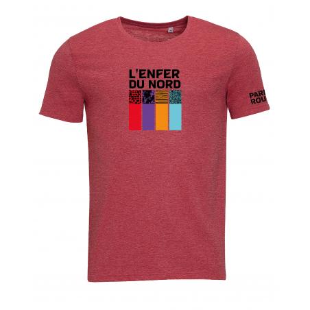 T-shirt Paris Roubaix Enfer Homme