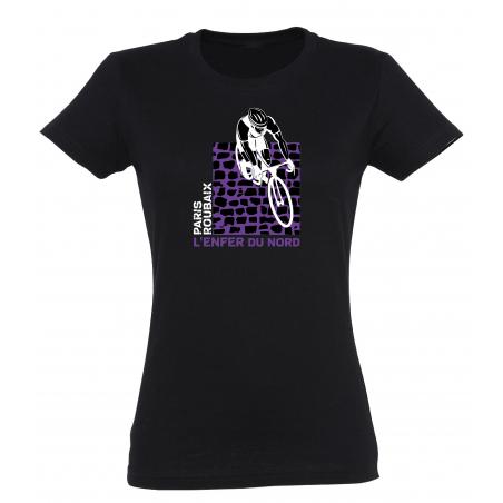 T-shirt Paris Roubaix Pavé Femme