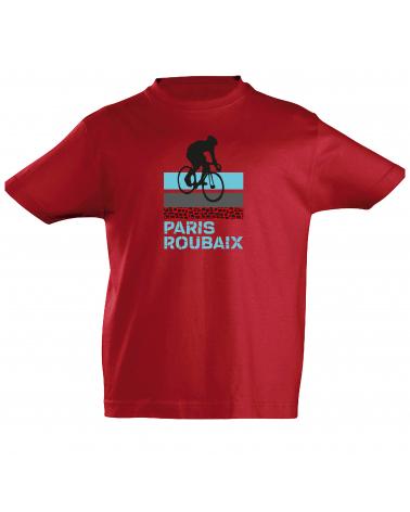 T-shirt Paris Roubaix Scotché Enfant