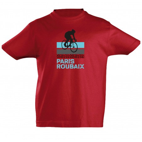 T-shirt Paris Roubaix Scotché Enfant