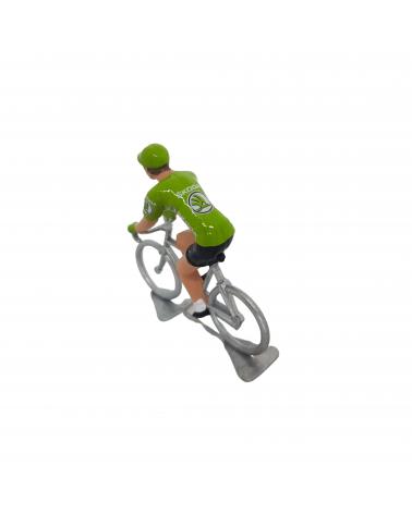 Figurine Cycliste Tour de France Vert