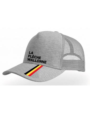 Cap Flèche Wallonne Eméché Gris