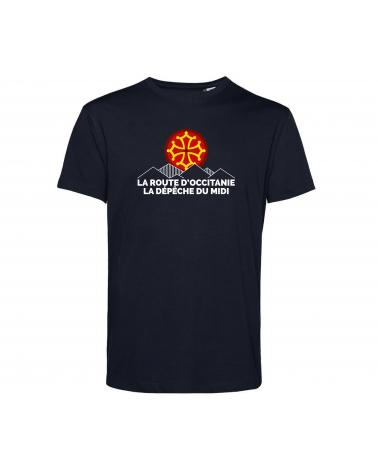 """T-shirt La Route d'Occitanie La Dépêche du Midi """" Grimpeur """" Homme Personnalisation"""