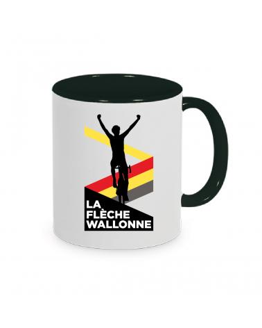 Mug Flèche Wallonne Plein Noir