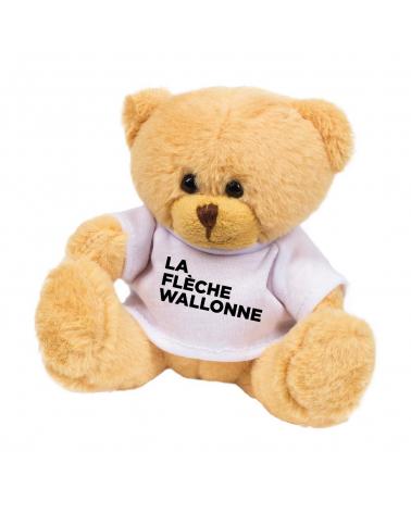 Peluche Flèche Wallonne Ourson Logo
