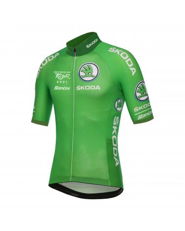 Jersey Full Zip Deutschland Tour Leader Green 2021