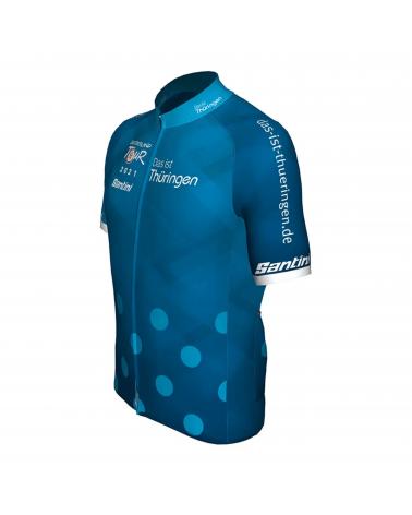 Jersey Full Zip Deutschland Tour Best Climber Blue 2021