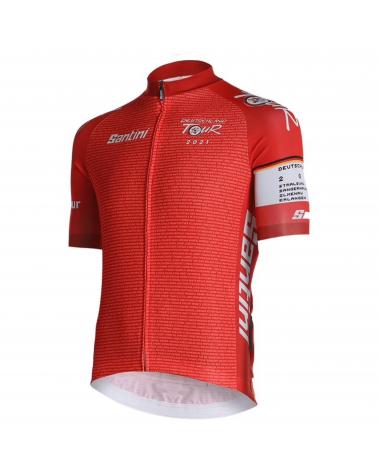 Jersey Full Zip Deutschland Tour Leader Red 2021