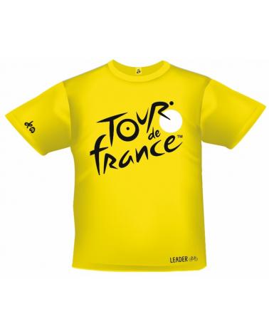 T-shirt Tour de France Logo Leader Jaune Enfant