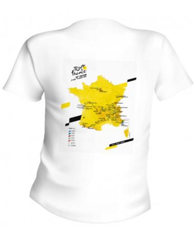 Tour de France 2020 Map Route T-shirt
