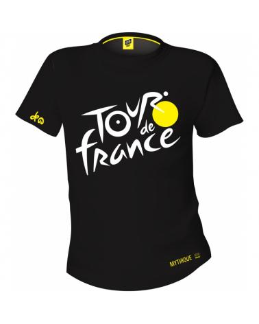 T-shirt Tour de France Logo Mythique Noir
