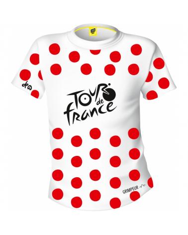 T-shirt Tour de France Logo Leader Grimpeur Pois