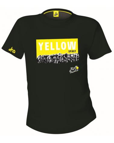 T-shirt Tour de France Graphique Yellow Spirit Homme
